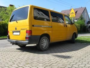 Przyciemnianie szyb VW T4