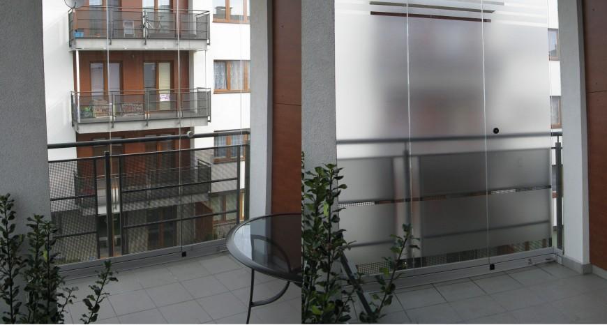 Folia matowa mrożone szkło